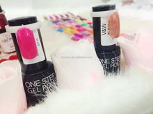fashion salon professional one step UV nail gel polish