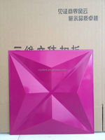 3D polymer composite design pvc wall panel from china manufacturer