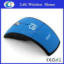 2.4G USB 2.0 Folding Wireless Optical Mouse for PC Laptop
