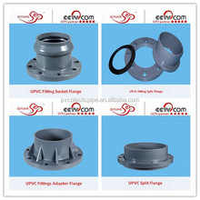 Hot Sale PVC Pipe Fitting Exhaust Flange With Good Price