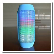 360 Degree Portable Bluetooth Speaker Super Bass Wireless Mini Digital Sound Box Built-in Flash LED Light & Mic