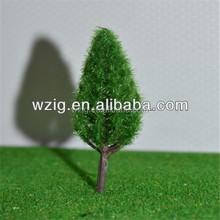 11 cm en plastique architecture modèle arbres chemin de fer de configuration, Maquettes d'architecture à train disposition