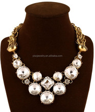 color large crystal heavy diamond necklace