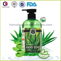 anti-bacterial hand wash liquid soap with aloe vera