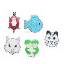 2015 hot cute animal shaped 8mm slide charms slide jewelry