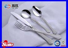 buy Jieyang factory wholesale royal wedding stainless steel dinnerware