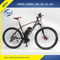 """High Speed and Long distance new 48V 500W 26"""" mid drive electric mountain bike"""