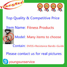 Factory Price & Top Quality T25 Fitness Workout Home with 10DVDS with training manual & with Resistance Bands