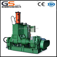 Easy to operate kneading machine with compacted structure twin screw extruder brabender