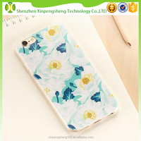 Best Selling Soft TPU Flower Mobile Phone Case for iPhone 6 Made in China