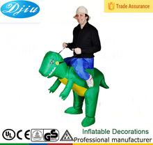 Dj-co-112 açık elbise şişme dinozor kostümü jumsuit çocuklar için kıyafet