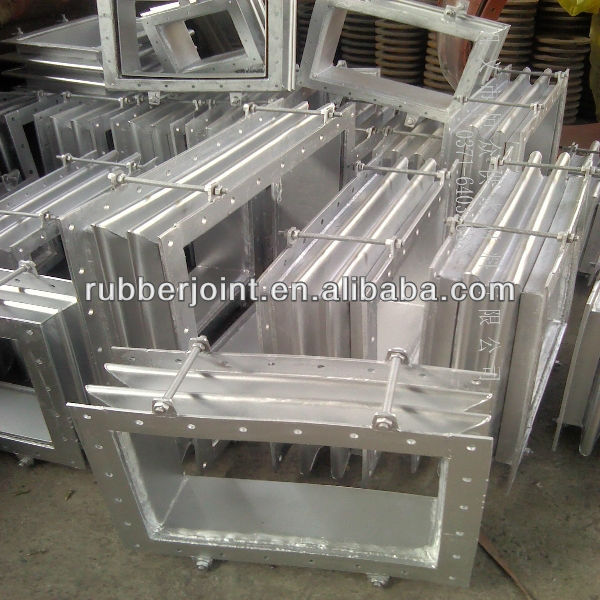 Resistance to high temperature corrosion metal bellow expansion joint