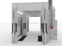 12m drive through door spray booth
