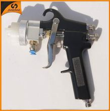 2015 new type best double nozzle spray gun hplv paint sprayer