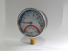 63mm thermo-manometer bottom connection