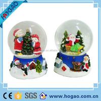 resin snow globe for christmas decoration