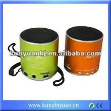 2012 Newest Portable Gift Mini Speaker (Use with MP3, MP4, CD, DVD, Ipod, mobile phone, laptop, TF card)