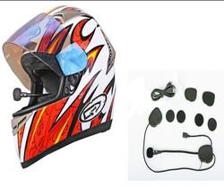 bluetooth motorcycle helmet headset with fm radio