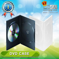 best selling double blank dvd case in China