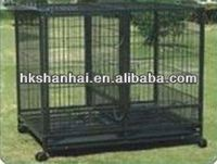 Indoor or Outdoor square tubing dog cage