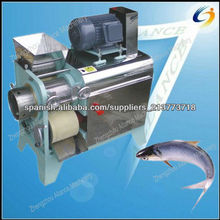 Máquina de procesamiento de alimentos para peces de alta performace para separar la carne de pescado deshuesado y maquinaria par