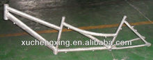 Tandem alloy bicycle frame