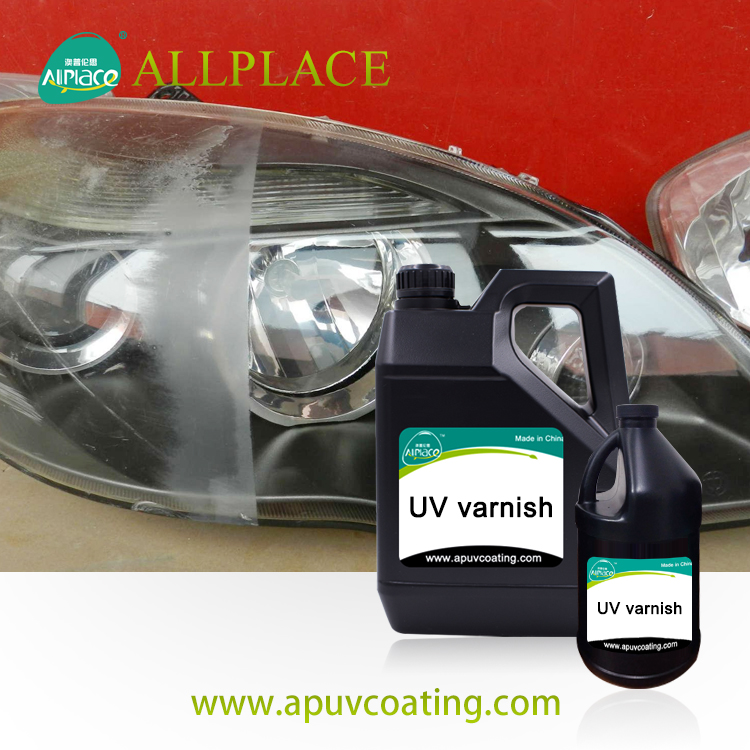 uv cured clear coat for headlights