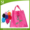 Handled Style and Polyester,HDPE/ LDPE Material T- shirt bag
