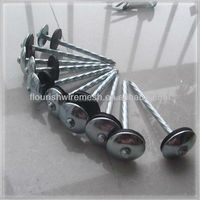 Factory directly provide durable coil roofing nail with umbrella head