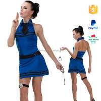 wholesale cosplay halloween police dance costume