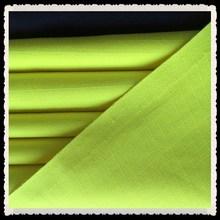 Amarelo fluorescente Modacrylic protex anti estática tecido retardante de chama para protecção coverall