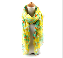 Scarf Factory China 100% Polyester Abstract Line Printed Fashion Air Conditioning Shawls Concise Lady Scarf