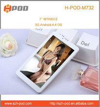 7 inch mid tablet pc can make phone call 3g dual sim phones video