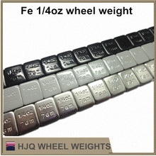 1/4 oz Adhesive fe wheel balancing weight
