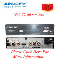 Top Brand TV Set Top Box HD DVB-T2 Digital High Definition Video Broadcasting Terrestrial Receiver With IR remote control