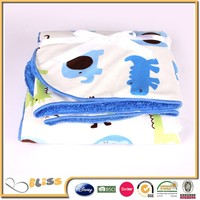 shaoxing supplier 10 years experience wool blanket baby blanket double ply blanket
