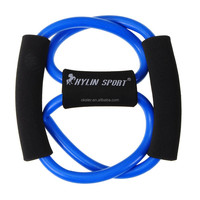 2015 Best Selling!! Resistance Band Set, resistance tube, resistance rope exercises