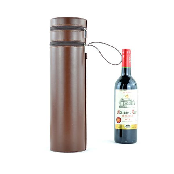 PU Leather Wine Box,Wine Case,Leather Wine Carrier