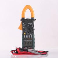 Auto manual range mini ac digital clamp meter MS2008A in low price