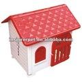 plástico cão da casa de plástico pet canil de abrigo