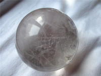 Good clarity of 100mm Natural rock crystal balls/ crystal spheres for sale