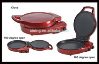 180 Degree Flat Heating Pizza Maker With Ready And Powe Indicator For Baking ,Cooking ,Frying