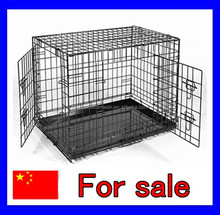 Cheap breeding welded wire mesh iron dog cage for sale