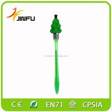 Christmas advertising flashing light fancy novelty pen