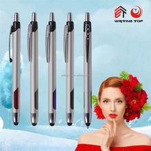 2015 wholesale stylus comfortable writing ball pen