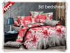 changxing hot sales floral design 3d bedsheet