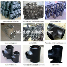 good quality carbon steel pipe fittings a234 wpb sch20 sch40 sch 80 sch160 tee/equal tee/seamless reducing tee-pipe fittings