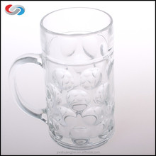 Wholesale Cheap 1000ml Cool Glass Steins, Beer Mug Oktoberfest For Promotion