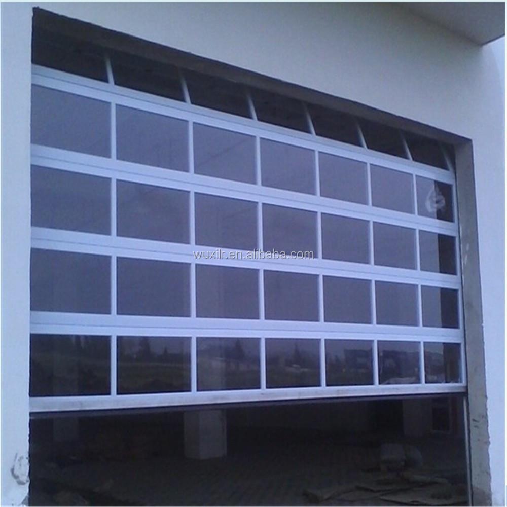 Sectional Glass Garage Door Of Security Automatic Aluminum Glass Sectional Door For