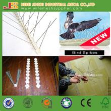 facilmente assemblati in acciaio inox base di plastica con uv uccello dispositivo repellente uccello picco